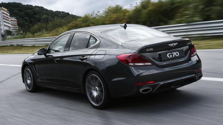 G70 Rear