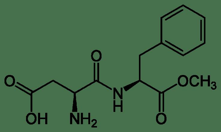 Aspartame Chemical Formular